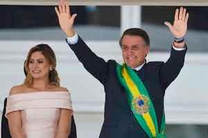 BOLSONARO TOMA POSSE EM BRASÍLIA