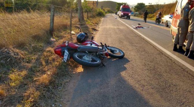 MOTOCICLISTA PERDE A PERNA EM ACIDENTE NA BR 356 EM ITAPERUNA