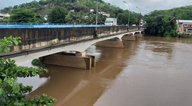 CHUVAS: RIO MURIAÉ PODE TRANSBORDAR EM MURIAÉ NAS PRÓXIMAS HORAS