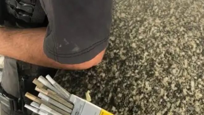 Petroleiro é preso com drogas enquanto embarcava no Heliporto do Farol de São Tomé em Campos