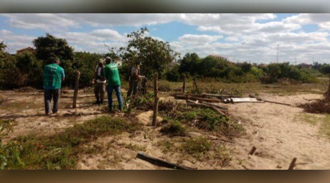 Operação em SFI desmobiliza ocupação irregular de Área de preservação permanente