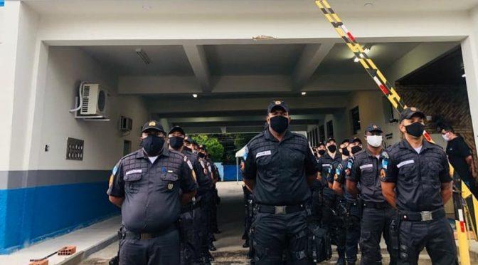 Batalhão da Polícia Militar em Campos recebe reforço