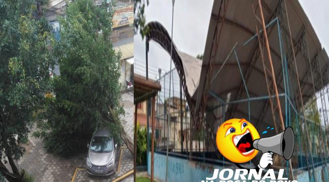 Prefeitura de Campos segue com ajuda a famílias após tempestade
