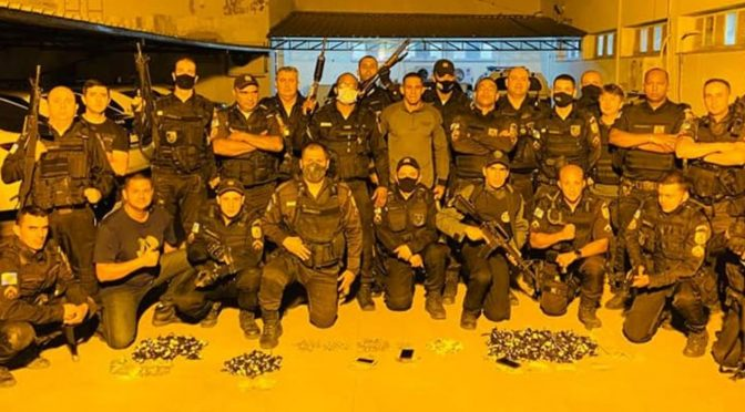 Polícia Civil e Militar deflagram operação contra o tráfico de drogas em Miracema, cinco pessoas foram presas